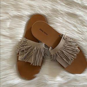 Min miu sandals
